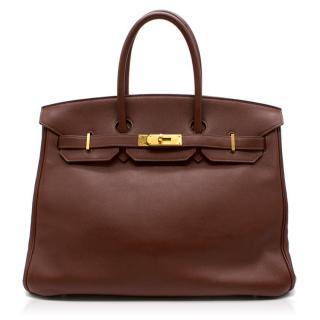 Hermes Swift Terre 35CM Birkin Bag