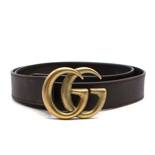 Gucci Belt With Double G Buckle
