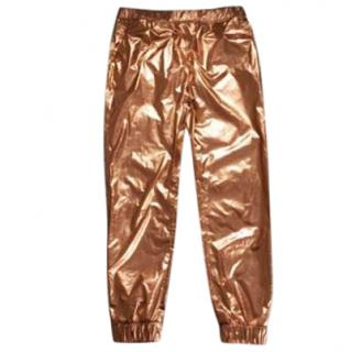 MSGM Gold trousers