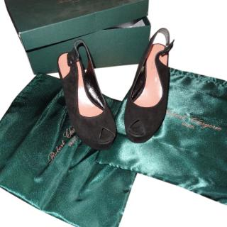 Robert Clergerie Black suede Shoes