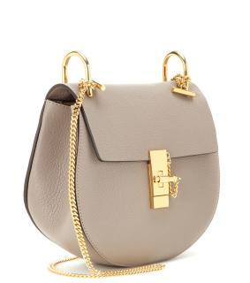 Chloe Small Grey Drew Bag