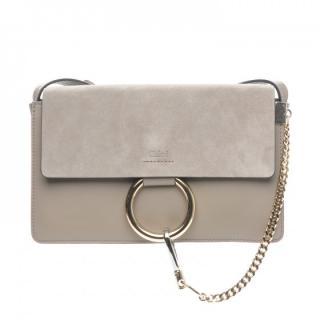Chloe Motty Grey Small Faye Bag
