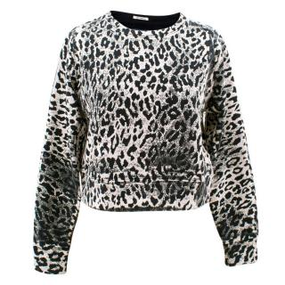 Mother Leopard Jumper Top