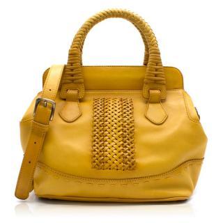 Quidam Mustard Crossbody Bag