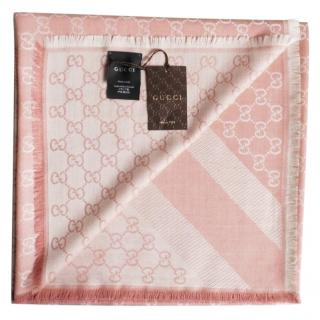GUCCI SCARF PINK NEW