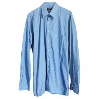 Christian DIOR Monsieur Blue Vintage Shirt