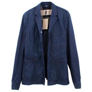 Burberry Brit Denim Blazer Jacket