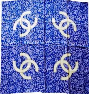 Chanel filigree CC  Scarf