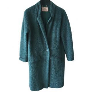 Max&Co wool mohair green coat
