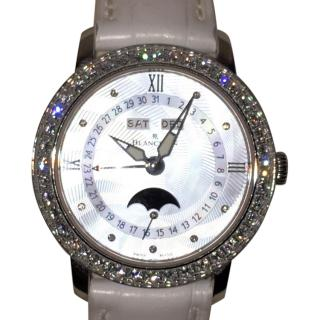 Blancpain Villeret Diamond set/mother of pearl watch in box -2017