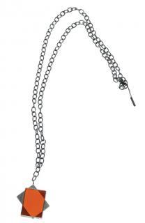 Bottega Veneta silver necklace