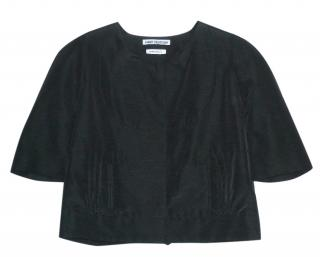 Osman Yousefzada Black Crop Jacket