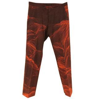 Christopher Kane 3D Landscape Print Trousers