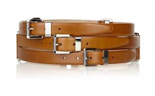 Michael Kors Triple Leather Belt