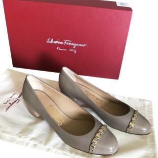 Salvatore Ferragamo Grey Shoes