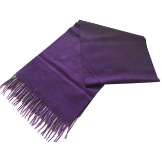 N Peal Purple Cashmere scarf