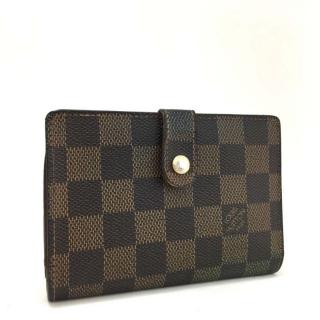 Louis Vuitton Damier Porte Monnaie Billets Viennois Wallet 10758