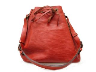 Louis Vuitton Epi Petit Noe Red Leather Shoulder Bag 10759