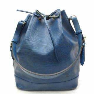Louis Vuitton Blue Noe  Epi Leather Bag