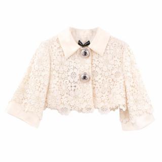 Dolce & Gabbana Crochet Short Jacket