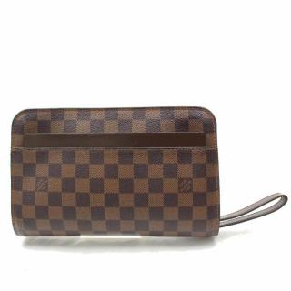 Louis Vuitton Saint Louis Brown Damier Ebene Clutch