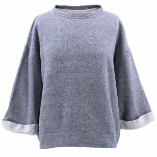 Paper Denim & Cloth Cotton Blend Sweatshirt