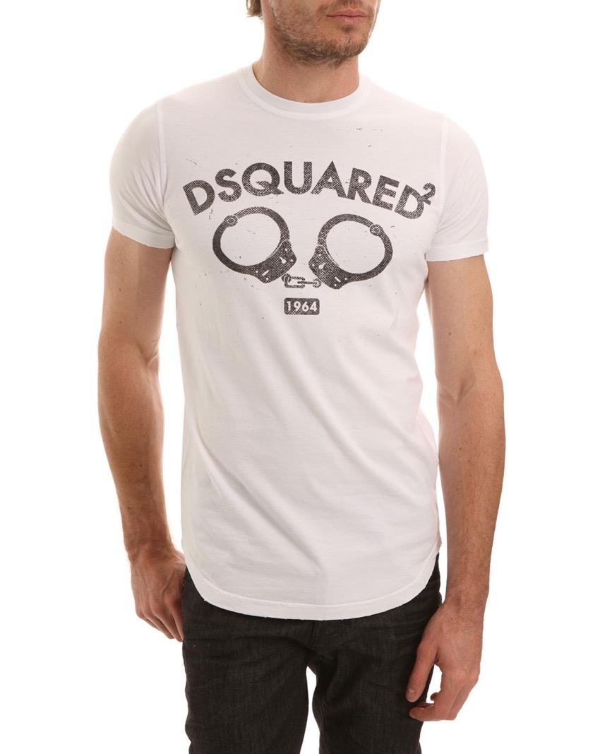 Dsquared Mens Handcuffs T-shirt