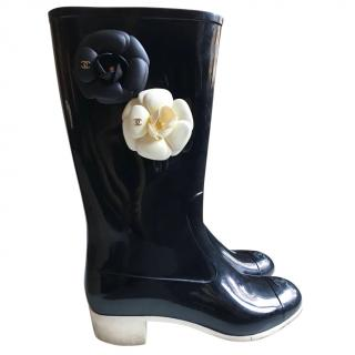 Chanel Wellington Boots