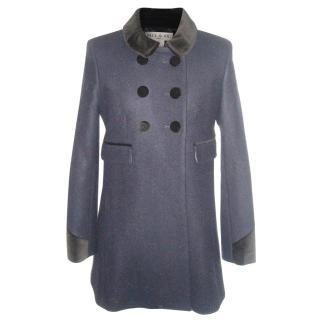 Paul & Joe Navy Coat