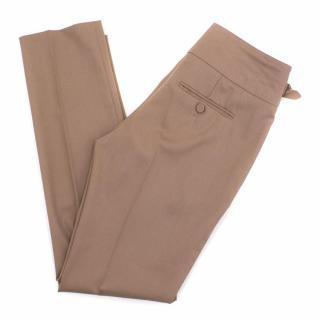 Jason Wu Beige Wool Trousers