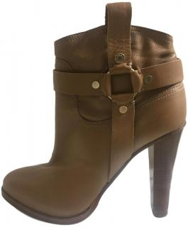 Jimmy Choo Donita Leather Ankle Boots