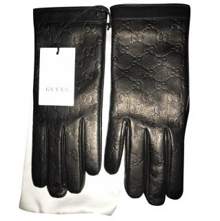 Gucci Signature Gloves - Size 8.5