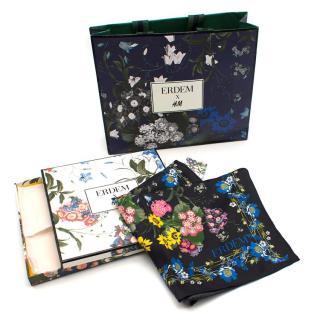 Erdem x H&M Floral Pure Silk Scarf