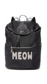 Paul & Joe meow black rucksack backpack