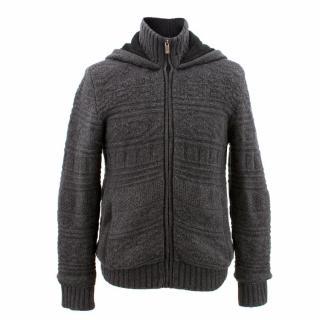 Zegna Sport Grey Zip Coat