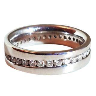 Full Diamond Eternity Ring 18ct Gold RRP �3500