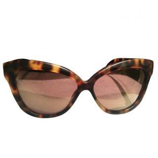 Linda Farrow Sunglasses LFL38 Cat Eye New