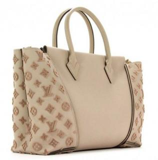Louis Vuitton Galet Beige W PM Tote Bag