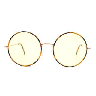 Spektre Tortoiseshell Round Lens Eyewear