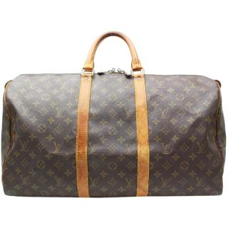 Louis Vuitton Keepall 45 Brown Monogram Boston Bag 10774