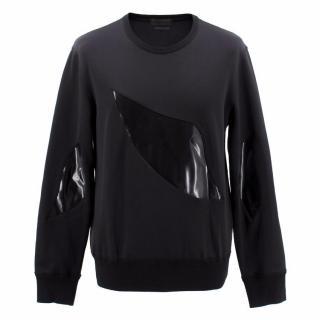 Alexander McQueen Cotton Blend Sweater