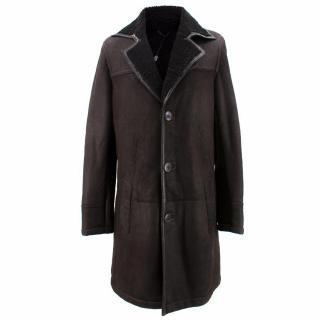 J.Lindeberg Tomo Graphite Shearling Coat