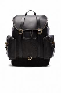 Coach Gotham Black Backpack