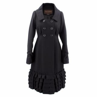 Louis Vuitton Long Black Coat