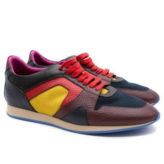 Burberry Prorsum Multi- coloured Leather Sneakers