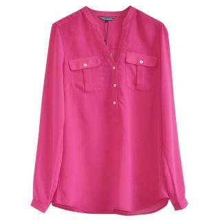 Tommy Hilfiger pink blouse