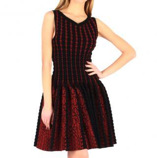 Alaia bordeaux dress