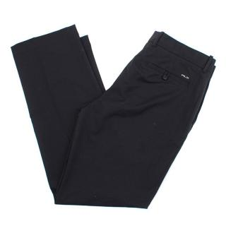 Ralph Lauren RLX Black Straight Leg Trousers