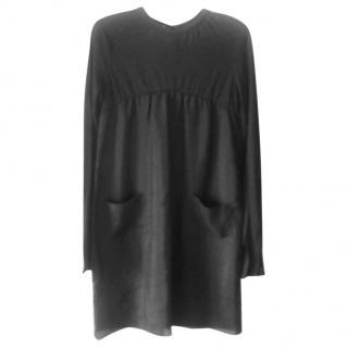 Marni Black Smock Style Dress