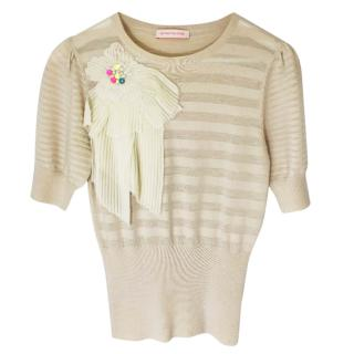Matthew Williamson Wool And Cashmere Blend Top